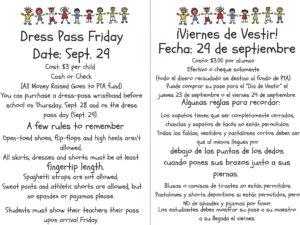 Dress Pass Friday @ Mata Montessori