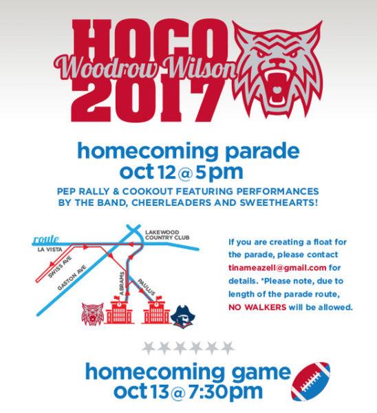 2017 Woodrow Wilson Homecoming Parade